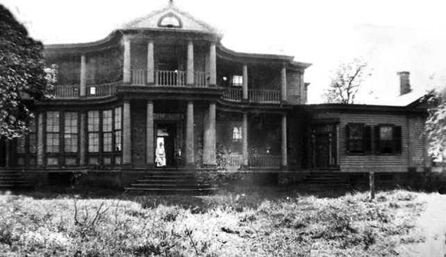 Belle Grove Plantation – First Known Photograph 1894