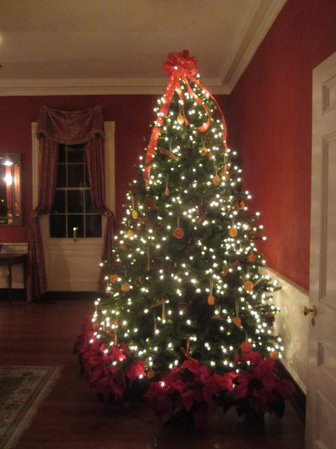 Belle Grove Plantation Natural Christmas Tree Decorations