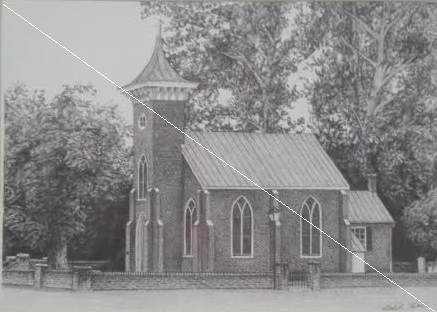Emmanuel Episcopal Church Print line