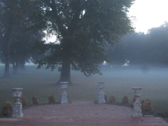 Belle Grove Plantation Bed and Breakfast Spooky Ghost Story and Fog
