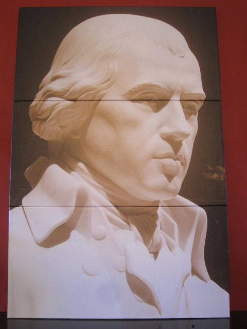 James Madison Portrait given to Belle Grove Plantation Bed and Breakfast / James Madison Library in King George. Virginia