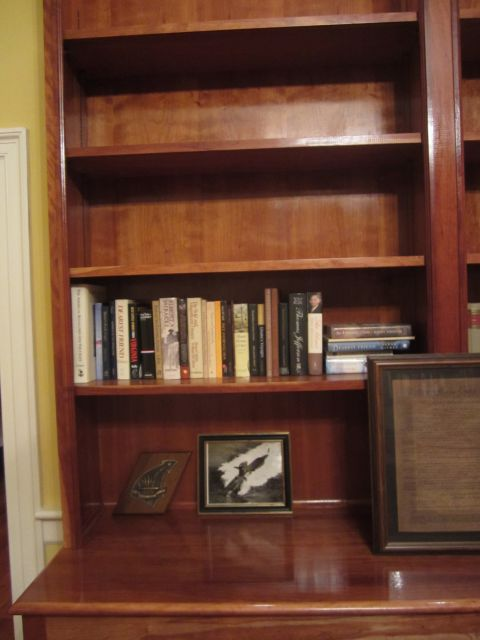 Civil War Books donated to Belle Grove Plantation Bed and Breakfast / James Madison Library in King George. Virginia