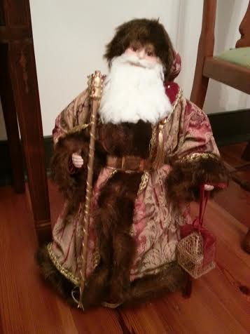 Santa Floor Fur Coat